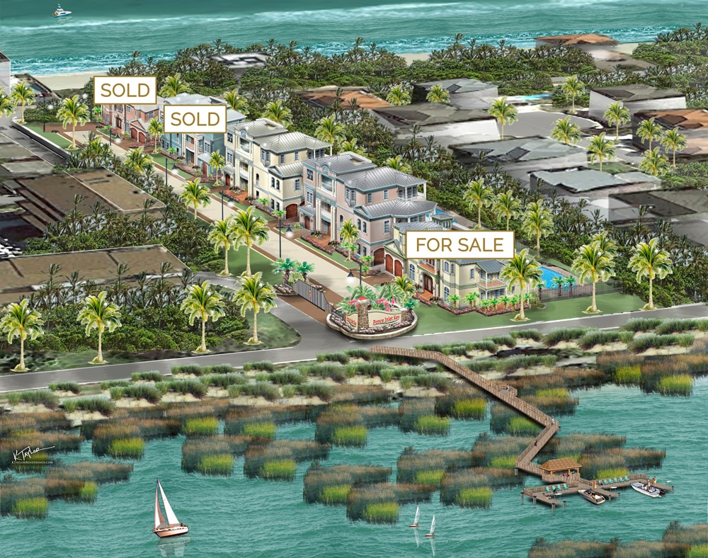 Ponce Inlet Key Community rendering