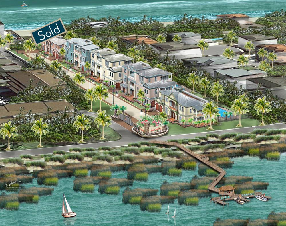 Ponce Inlet Key lot sold