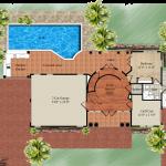 The Mallory, floor plan of main floor