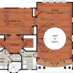 The Mallory, floor plan of second floor